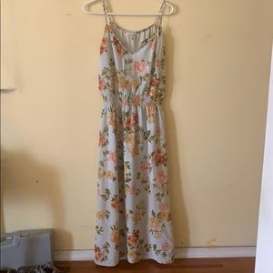 Speed Control, floral maxi, size M.